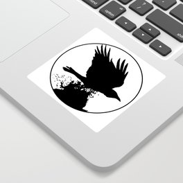 Black Water Sticker