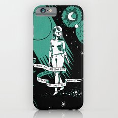 When you close your eyes iPhone 6s Slim Case