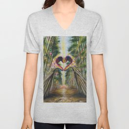 Heart of the Forest Unisex V-Neck