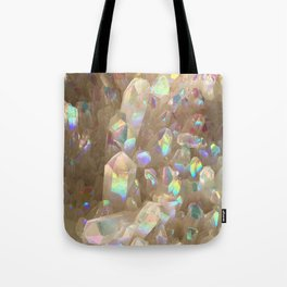 Unicorn Horn Aura Crystals Tote Bag