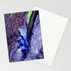 Mr Blue Frog Stationery Cards