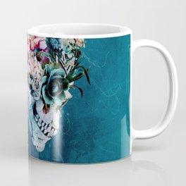 Floral Skull RP Coffee Mug