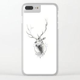 Cervus Clear iPhone Case