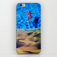oasis iPhone & iPod Skins featuring Oasis by John Turck