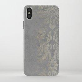 Grunge Damask iPhone Case