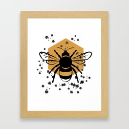 Bee Framed Art Print