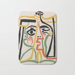 Picasso - Woman's head #1 Bath Mat