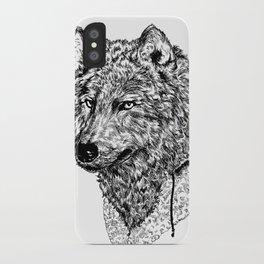Mr Wolf iPhone Case