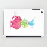 elephants iPad Cases featuring Elephants by Freeminds