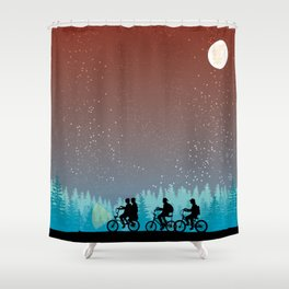 Searching for Will B. - 80s things Shower Curtain