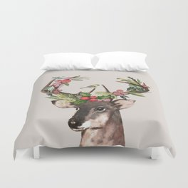 Christmas Deer Duvet Cover