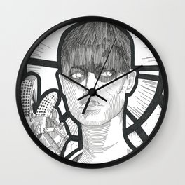 S.F. (Saint Furiosa)  Wall Clock