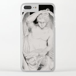Study of Le Génie Du Mal (seducifer) Clear iPhone Case
