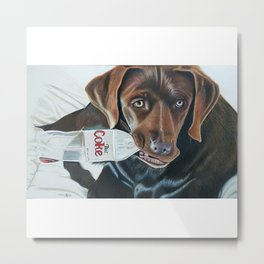 Sophie Could Use a Drink Metal Print