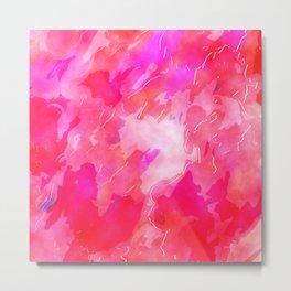 Pink Wash Metal Print