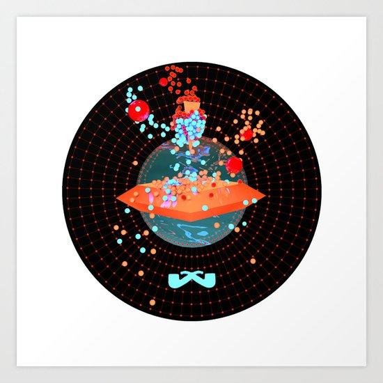 Portal. Art Print