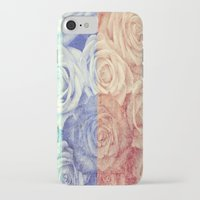 vintage flowers iPhone & iPod Cases featuring Vintage Flowers by Del Vecchio Art by Aureo Del Vecchio
