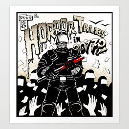 Horror Tales in Catalonia october 1st Art Print