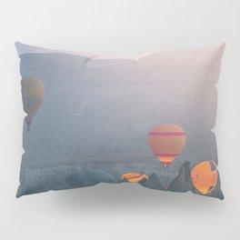 Balloons over Cappadocia Pillow Sham