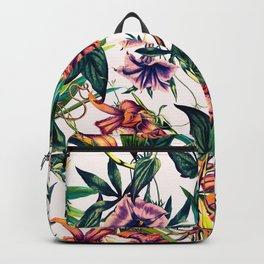 Bloom colorful garden vintage Backpack