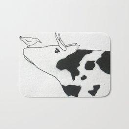Bird & Cow Bath Mat