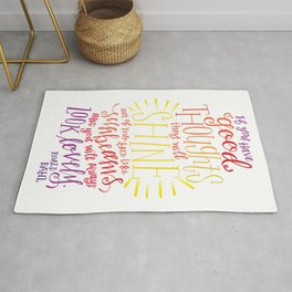 You Will Always Look Lovely [Roald Dahl] Rug