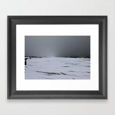Island Beach State Park Framed Art Print