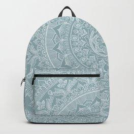 Mandala - Soft turquoise Backpack