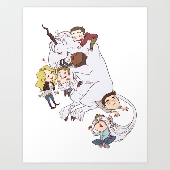 Teen Wolf: Art Prints Redbubble