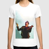 u2 T-shirts featuring U2 / Bono 2 by JR van Kampen