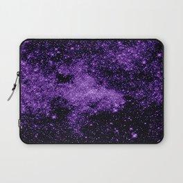 gaLaxy. Dark Purple Stars Laptop Sleeve