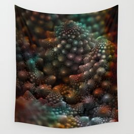 Carina and Romanesco - Sitting in a Broccoli Tree Wall Tapestry