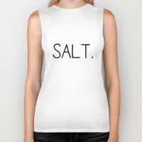 salt water Biker Tanks featuring Salt. by Young Salts
