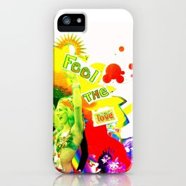 Feel The Love iPhone Case