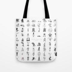 Monster Book Club Tote Bag