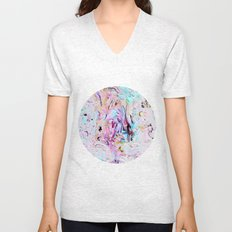 Finger Paint Unisex V-Neck