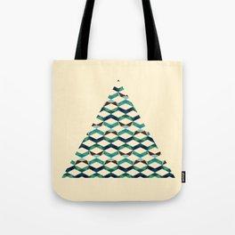 Trichevron Tote Bag