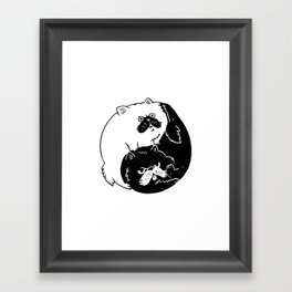 The Tao of Cats Framed Art Print