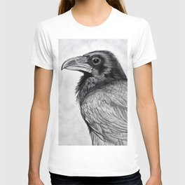 Corvus Corax (The Common Raven) T-shirt
