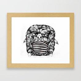 Width Owl- from new zine Framed Art Print