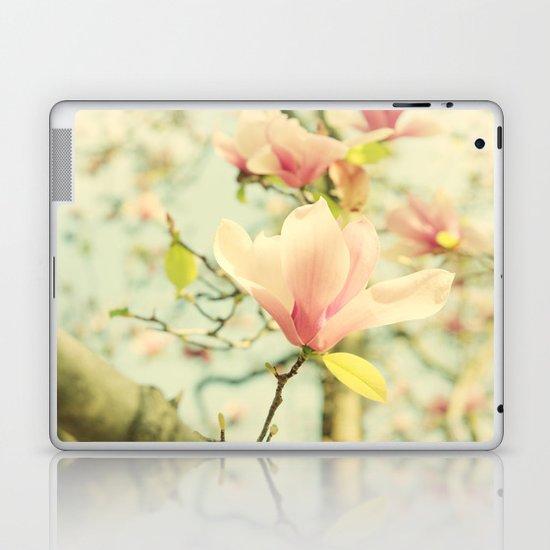 Spring Magnolias Laptop & iPad Skin