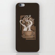 Coffee Nouveau iPhone & iPod Skin