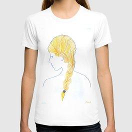 Sewing Portrait 1 T-shirt
