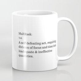 The Curse of the Multitasker Coffee Mug