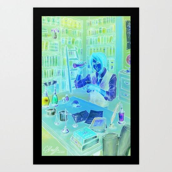 The Alchemist's Hideaway Art Print