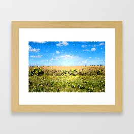 Grass Ain't Greener Framed Art Print