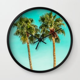 Palms Away - Palm Springs 5 Wall Clock