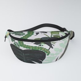 assorted leaves Fanny Pack