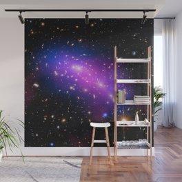 Colliding Galaxies Wall Mural