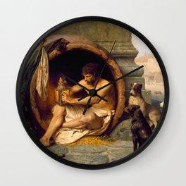 Jean-Léon Gérôme Diogenes - Philosophy Wall Clock
